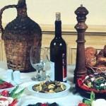 Выставка традиционных продуктов и фестиваль вина в деревне Струмби