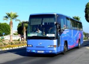По Кипру на автобусе